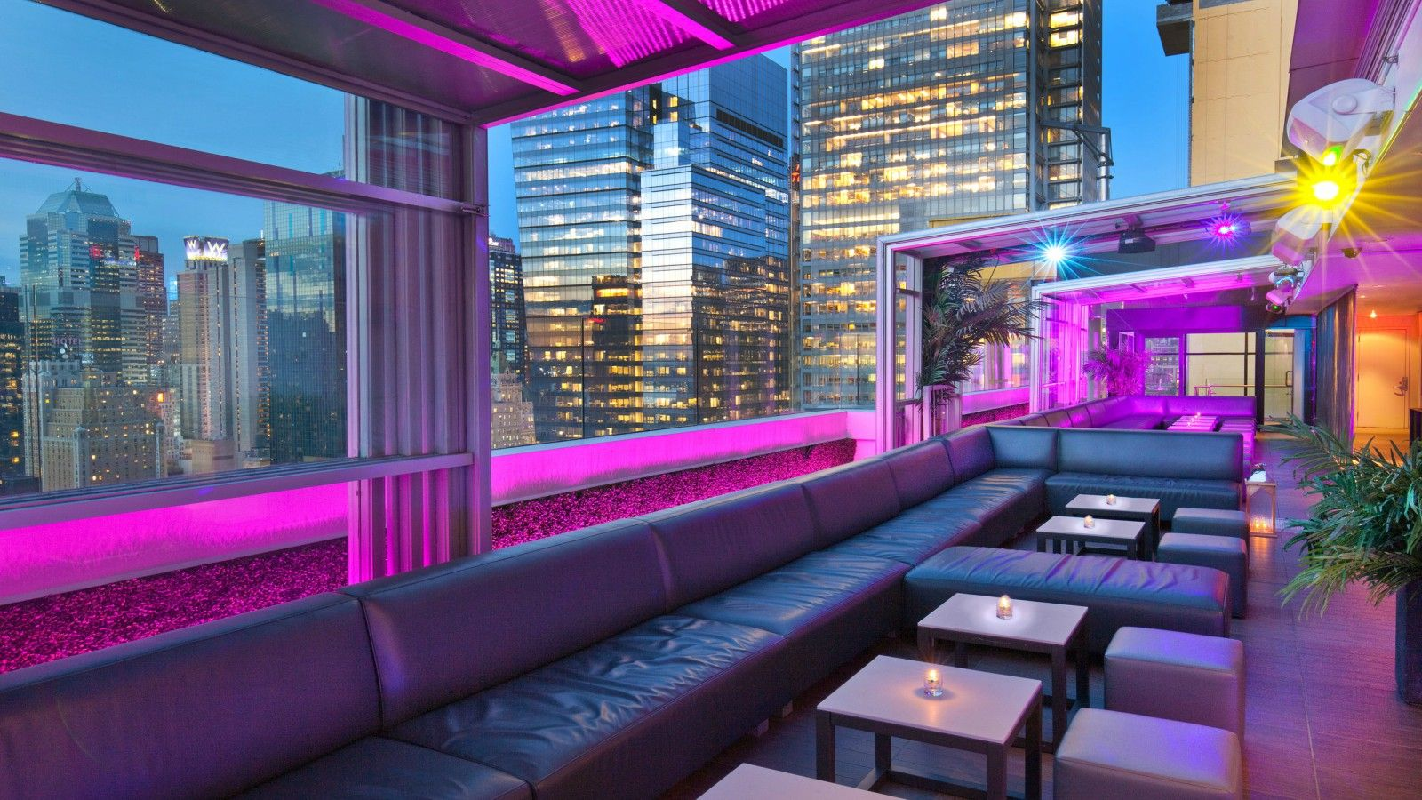Rooftop bars nyc four points midtown times square for Things to do in nyc for kids today