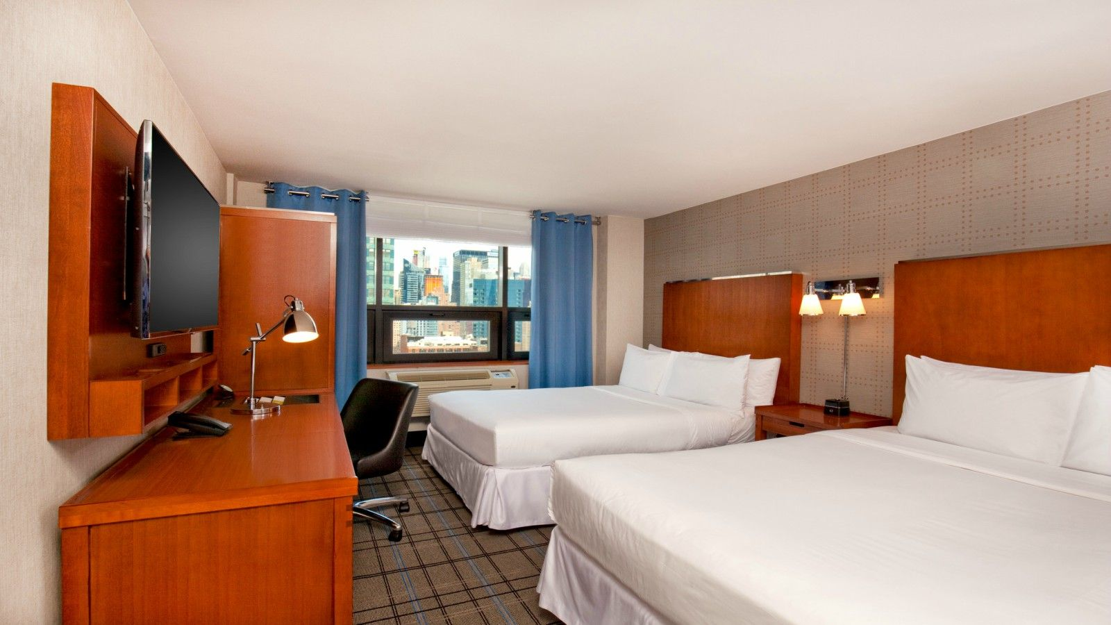Times Square Accommodations - Double Double Room