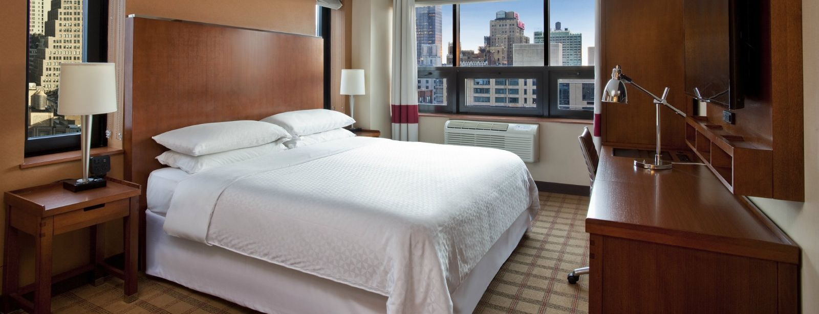 Times Square Accommodations - City View Room
